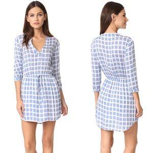 BB Dakota Daniella Plaid Printed Shirt Dress